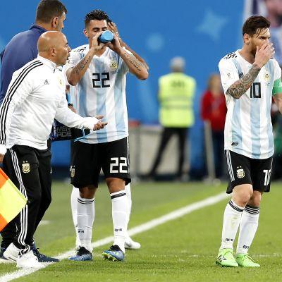 Jorge Sampaoli, Lionel Messi§