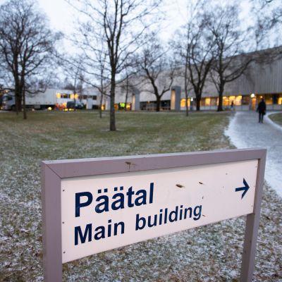 Tampereen yliopiston ulkokuva