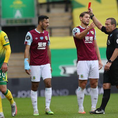 Norwich Burnley Josip Drmic