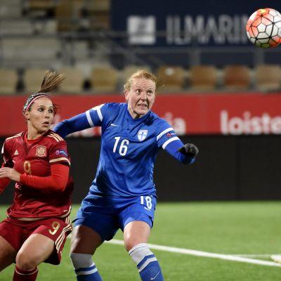 Anna Westerlund, FIN-ESP, oktober 2015