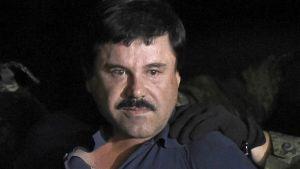 """Joaquin """"El Chapo"""" Guzman efter att han gripits 8.1.2016"""