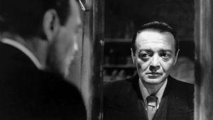 Peter Lorre elokuvassa Kadotettu (Der Verlorene), 1951