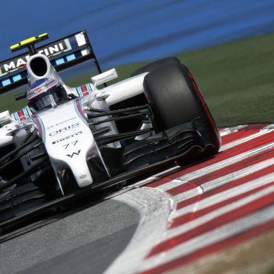 Valtteri Bottas under kvalet till Österrikes GP