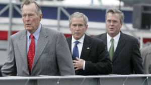 George Bush, George W. Bush och Jeb Bush