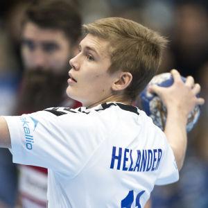 Benjamin Helander, Finland-Slovakien, januari 2018.