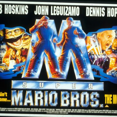 Super Mario Bros Affish