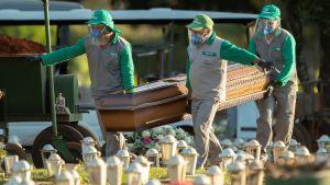Coronaläget i Brasilien är näst värst i världen efter USA, med över 360 000 bekräftade coronafall och och nära 23 000 döda.