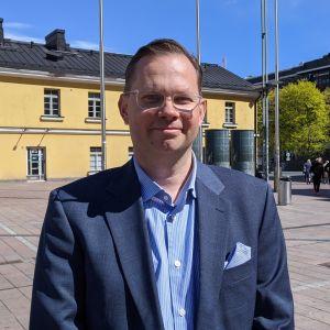 Noho Partnersin toimitusjohtaja Aku Vikström.