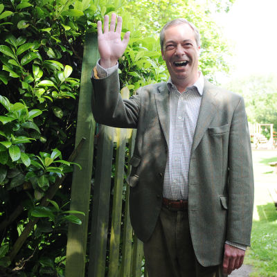 UKIP:s partiledare Nigel Farage.
