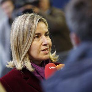 Federica Mogherini, EU:s så kallade utrikesminister