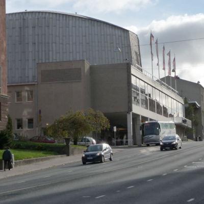 Åbo konserthus i Aningaisbacken.