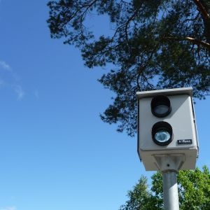 Övervakningskamera.