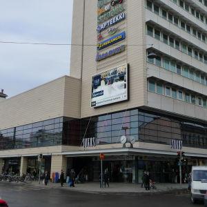 Varuhuset Wiklund vid Salutorget i Åbo