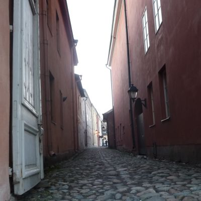 Kloster Mellangatan i det medeltida Åbo.