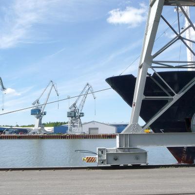 Åbo hamn.