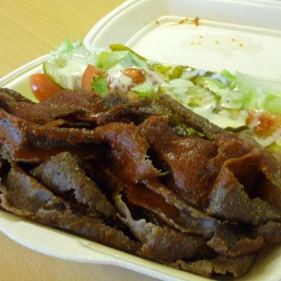 Kebab är populär snabbmat
