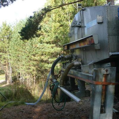 Vattenverket i Korpo.