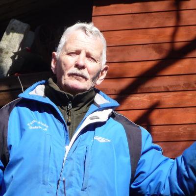 Erik Sjöblom och hans björk