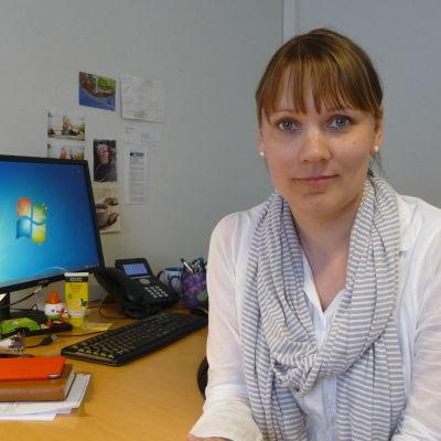 Maria Lingonblad, skolkurator.