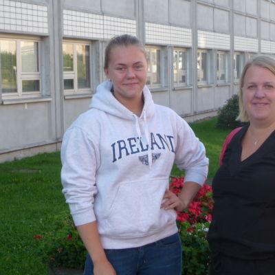 Julia Bäck och Malin Wälitalo-Palo