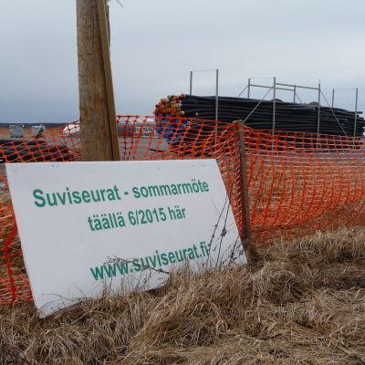 Det finns mycket kvar att göra före stormötet på Söderfjärden.