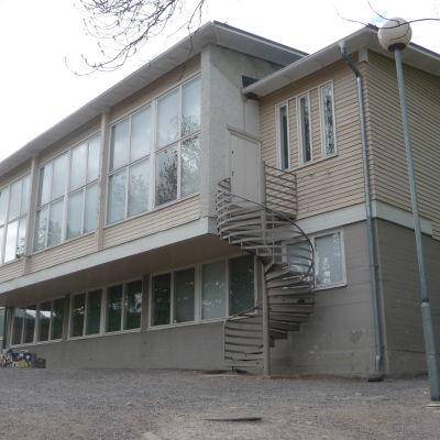 Kärnhuset i Sirkkala skola.