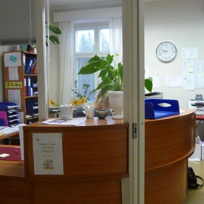 Mottagningscentralen för asylsökande i Kristnestad