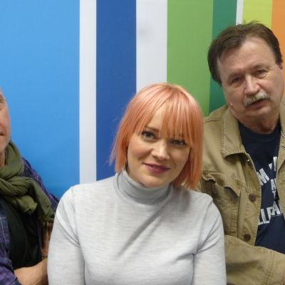 Marko Gustafson, Anna Puu ja Jake Nyman
