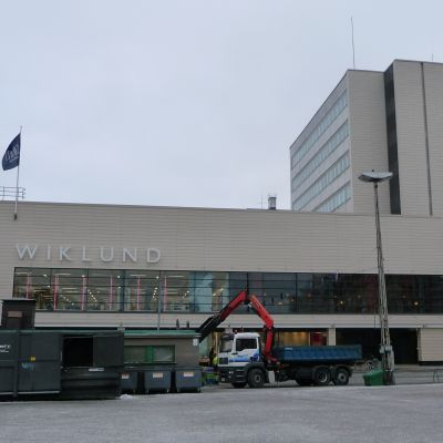 Wiklunds förstorade varuhus i Åbo