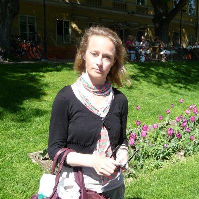Konstnär och författare Karin Ehrnrooth