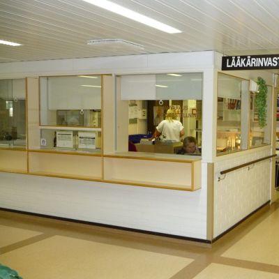 Läkarmottagningen i Kristinestad.