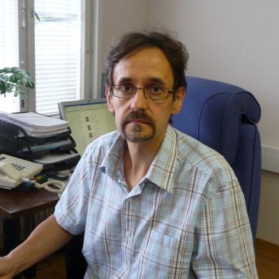 Markku Niskala är kommundirektör i Oravais