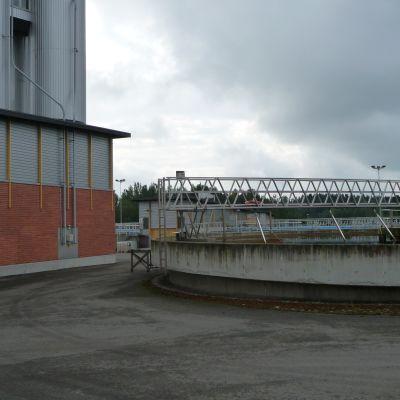 Hermansö avloppsreningsverk i Borgå