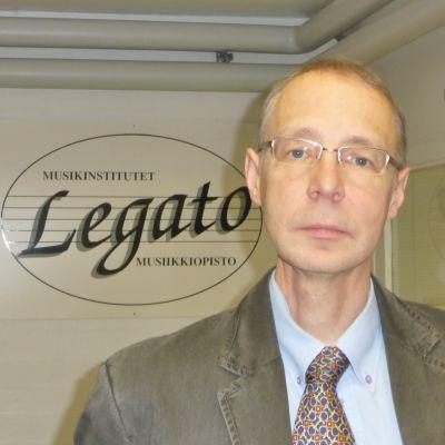 Ronnie Jaakkola, rektor för musikinstitutet Legato