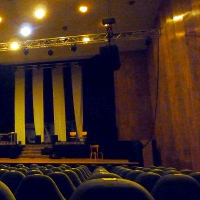 Konsertsalen på Kulturhuset Ritz.