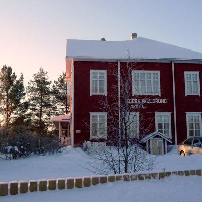 Skolan i Södra Vallgrund.