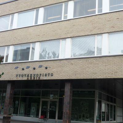 Arbishuset på Kaskisgatan i Åbo