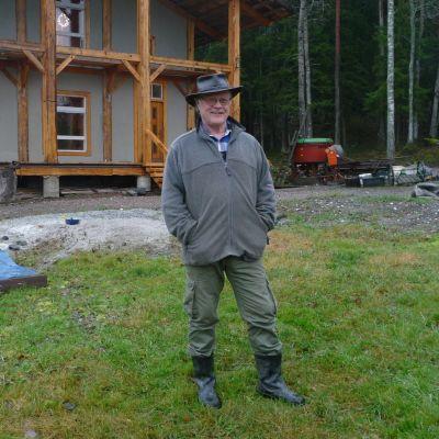 Thomas Commondt vid Villa Ångslottet