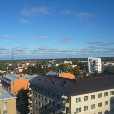 Utsikt över Vasastad