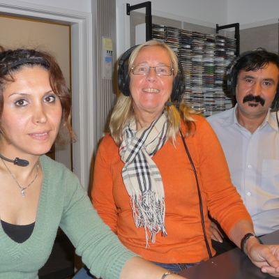Marjan Zoghayaei, Harriet Lindelöf-Sahl och Isa Jafari