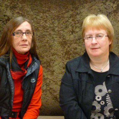 Marja-Liisa Eklund och Anna-Lena Kronqvist