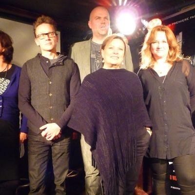 Ann-Luise Bertell, Mikki Kunttu, Niklas Rosström, Sharon Vaughn och Maria Sid