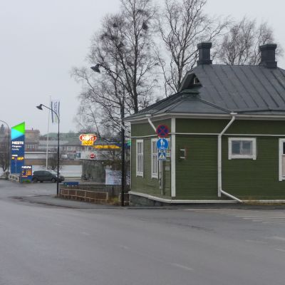 Juuselas hus i Kristinestad