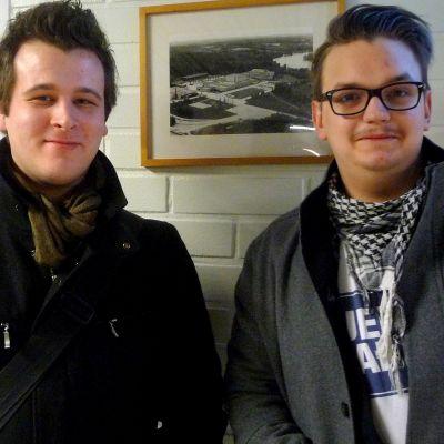 Matias Risikko och Jonny Smeds