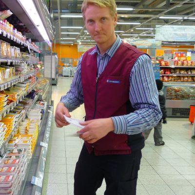 Köpmannen Tomi Nordin