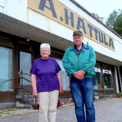 Marita Gullholm och Harto Hattula