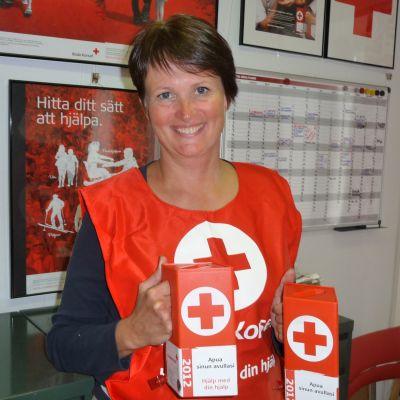 Yrsa Wilén är verksamhetsledare för Röda Korsets Åbolands distrikt.
