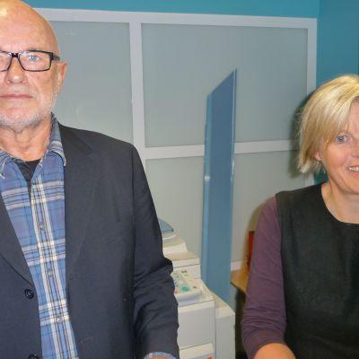Religionspsykolog Antoon Geels vid universitetet i Lund och statsvetare Ann-Catherine Jungar vid Södertörns högskola berättade om tolerans.