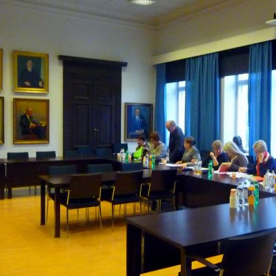 Vasa stads personalrepresentanter möts