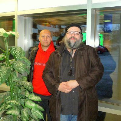 Hippi Hovi och Stefan Lindblom